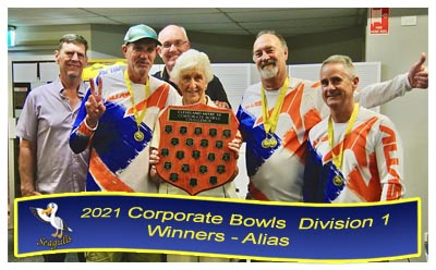 2018 Corporate Bowls Division 2 Runners Up
