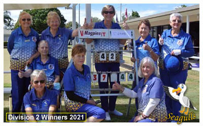 Gateway Ladies Division Three Winners 2016