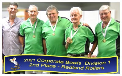 2017 Corporate Bowls - Winners